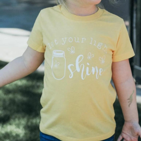 LET YOUR LIGHT SHINE KIDS SHIRT