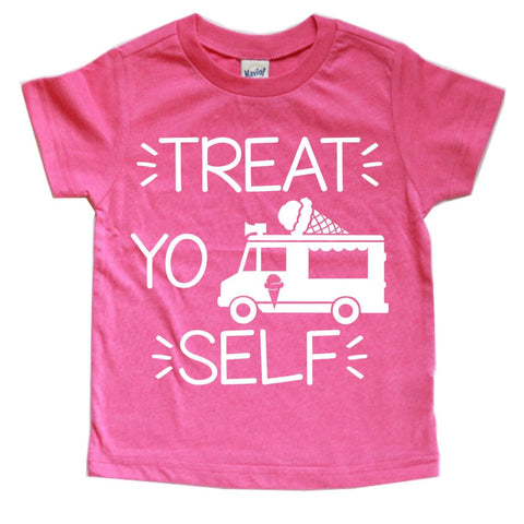 TREAT YO SELF KIDS SHIRT