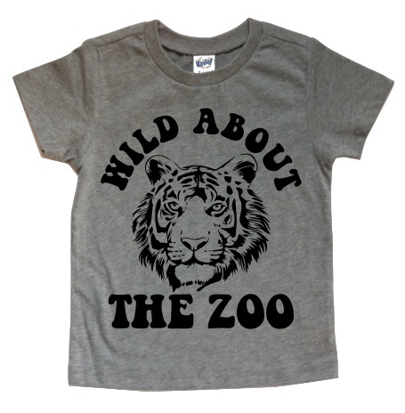 WILD ABOUT THE ZOO KIDS SHIRT