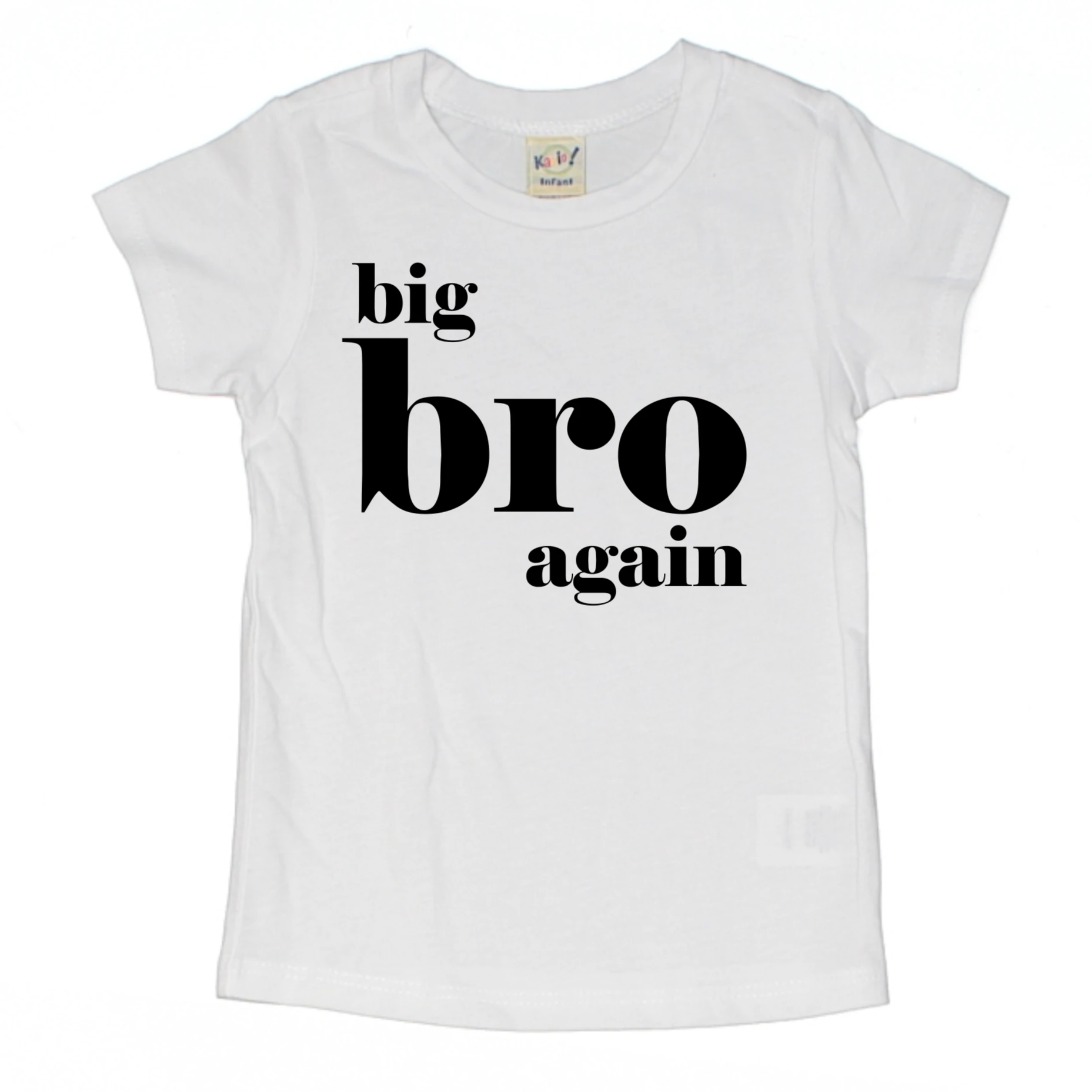 BIG BRO AGAIN KIDS SHIRT