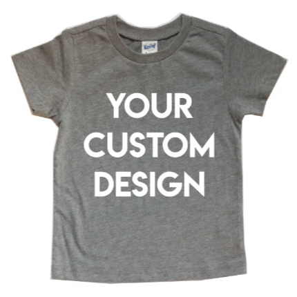 CUSTOM DESIGN KIDS SHIRT