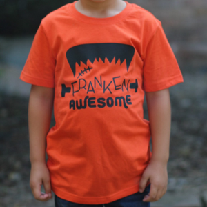 FRANKEN AWESOME KIDS SHIRT