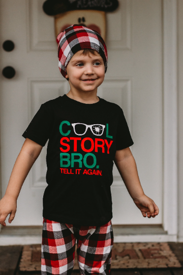 COOL STORY BRO TELL IT AGAIN KIDS SHIRT