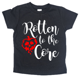 ROTTEN TO THE CORE KIDS SHIRT