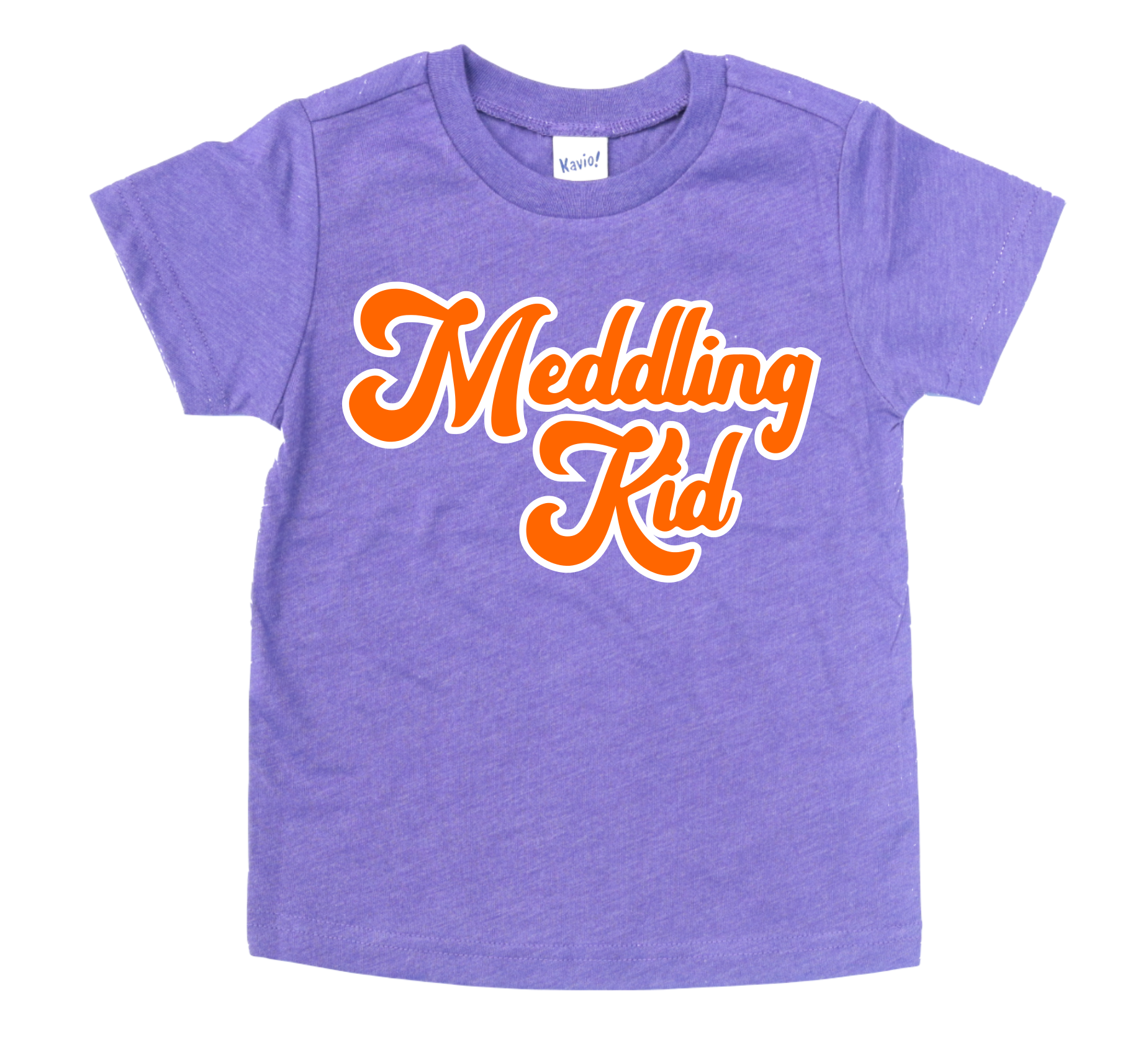 MEDDLING KID KIDS SHIRT