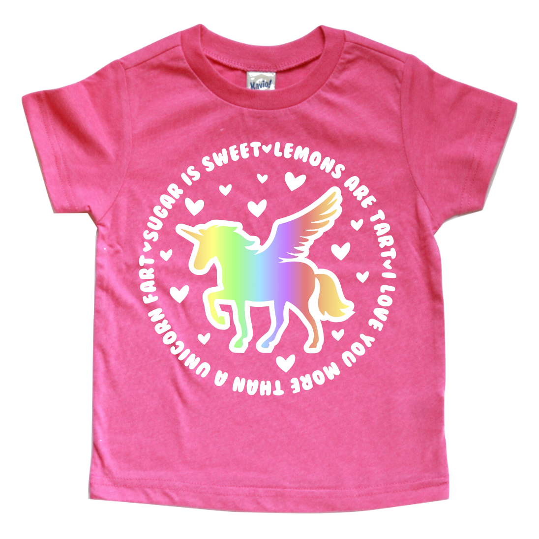 LOVE YOU MORE THAN A UNICORN FART KIDS SHIRT