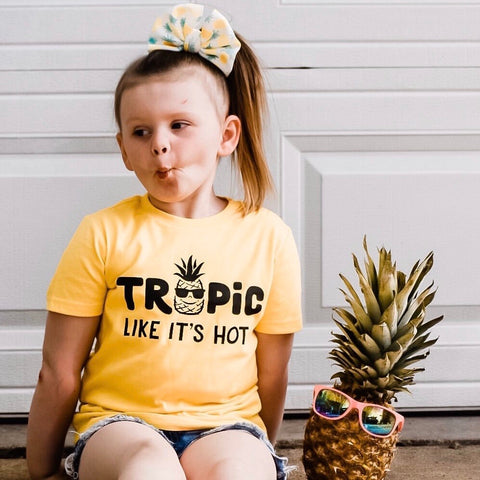 TROPIC LIKE IT'S HOT KIDS SHIRT