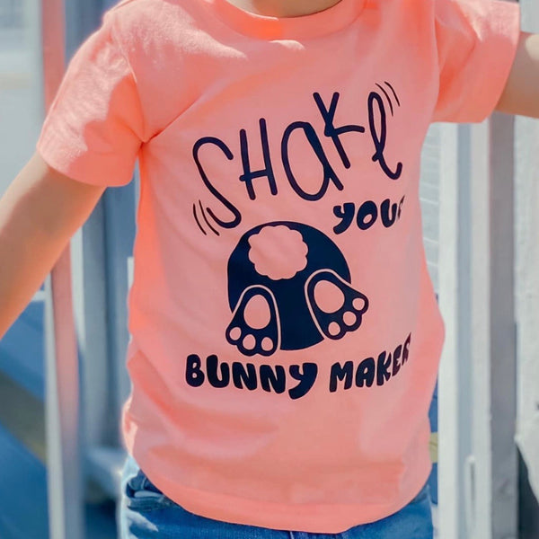 SHAKE YOUR BUNNY MAKER KIDS SHIRT