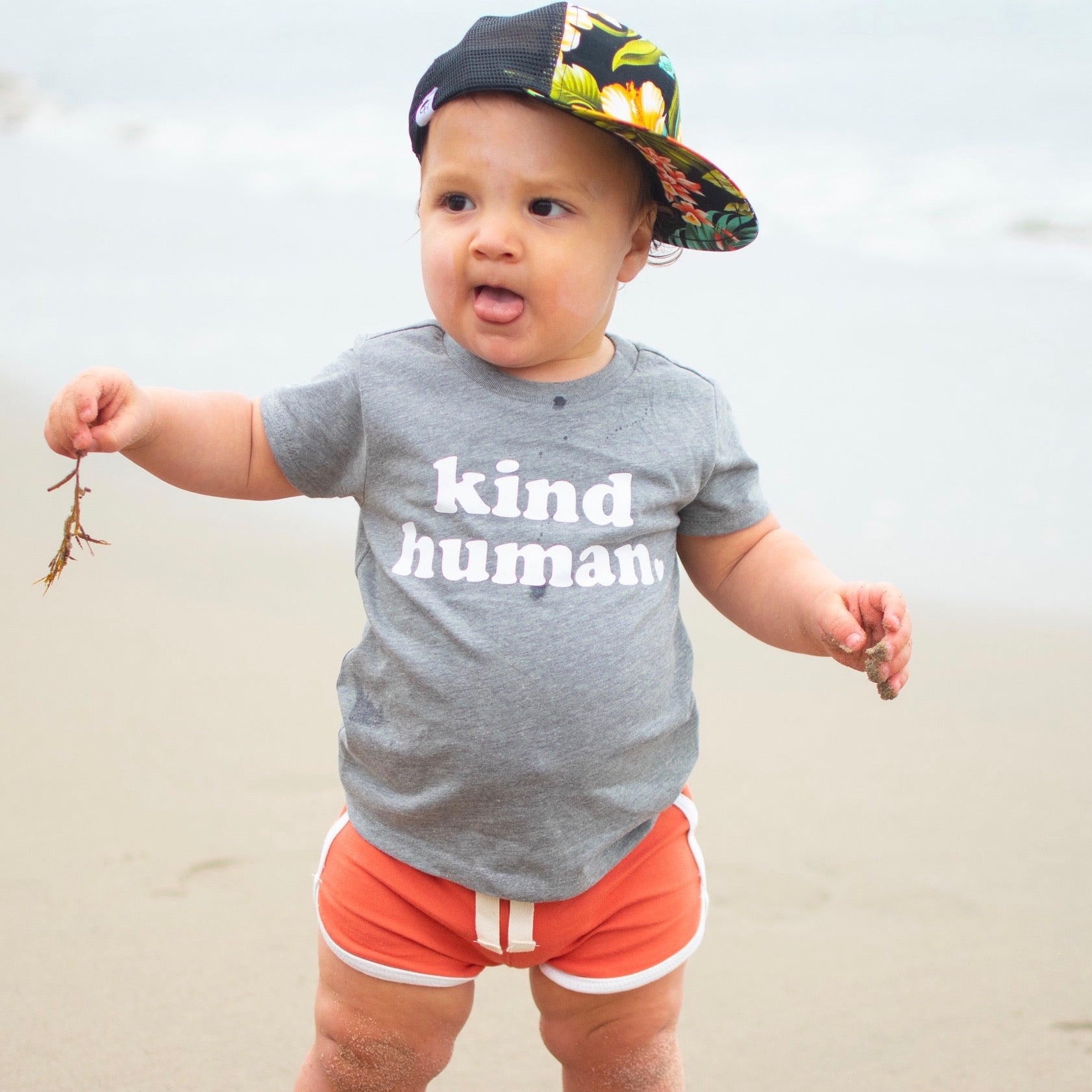 KIND HUMAN KIDS SHIRT