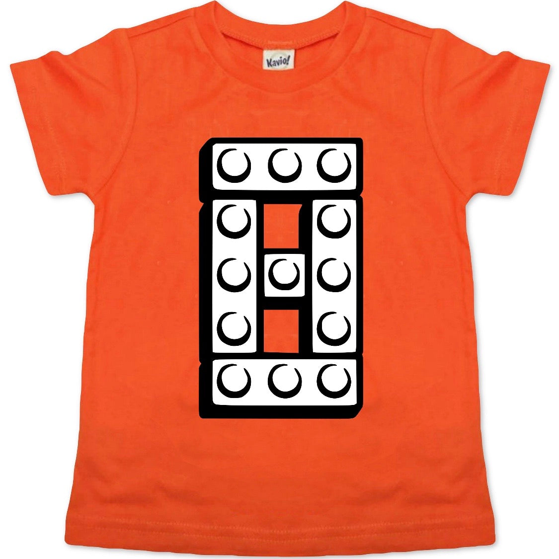 8 BUILDING BLOCK BIRTHDAY SHIRT