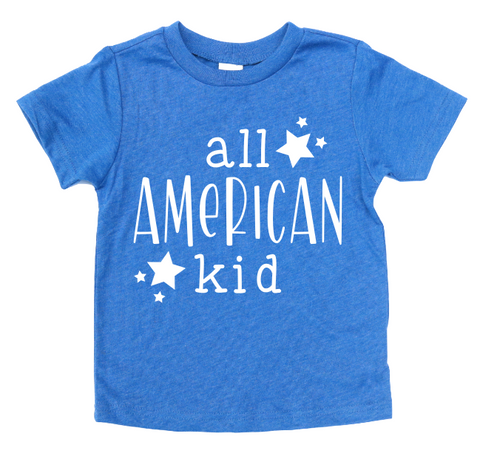 ALL AMERICAN KID KIDS SHIRT