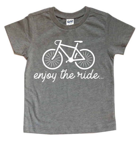 ENJOY THE RIDE KIDS SHIRT