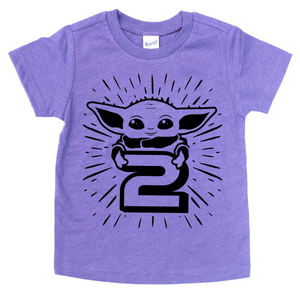 STAR CHILD 2ND BIRTHDAY KIDS SHIRT