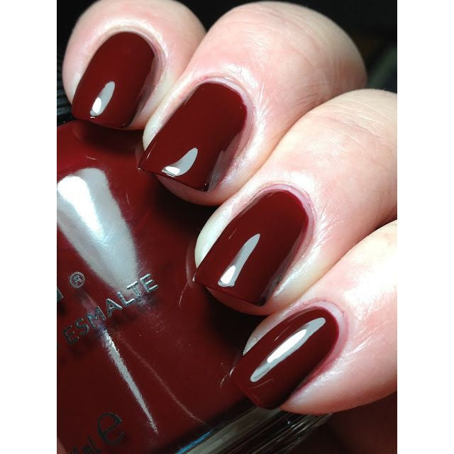 Bus Stop Crimson Nail Polish 18ml