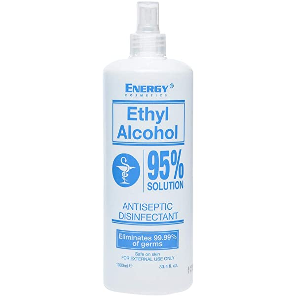 Cosmetics Ethyl 95% Alcohol  1L