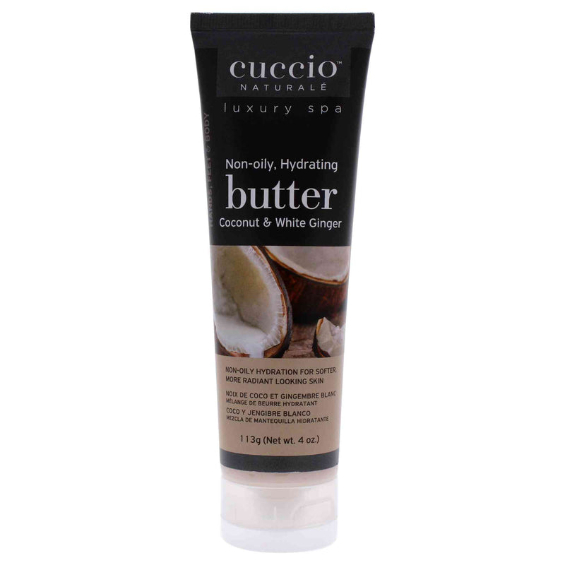 COCONUT & WHITE GINGER BUTTER BLEND ( HAND, BODY AND FOOT CREAM ) 113g