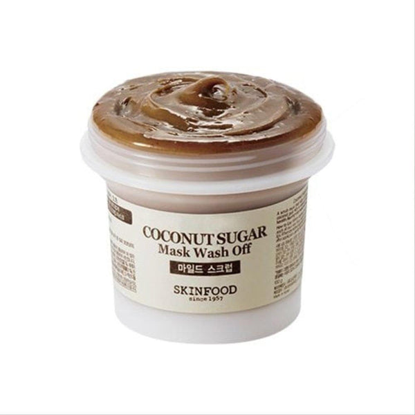 Coconut Sugar Mask Wash Off-Skinfood-UAE-BEAUTY ON WHEELS