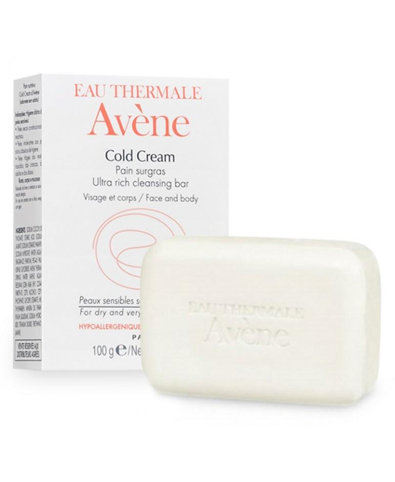 Cold Cream Ultra-Rich Cleansing Bar 100g-Avene-UAE-BEAUTY ON WHEELS