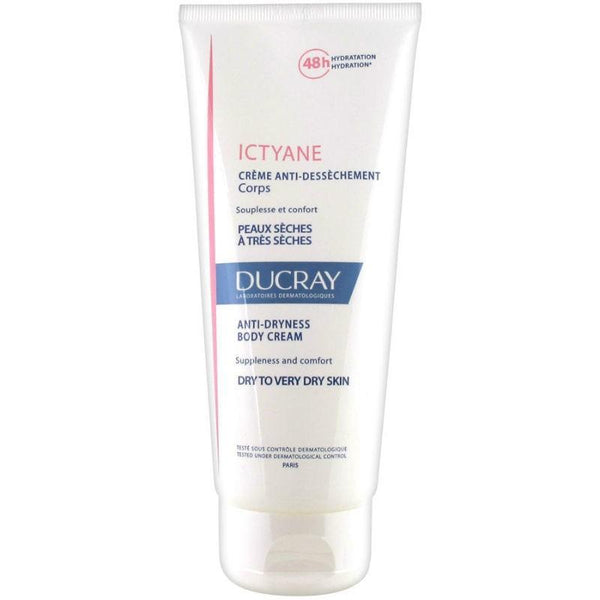 Ictyane Anti-Dryness Body Cream 200ml-Ducray-UAE-BEAUTY ON WHEELS