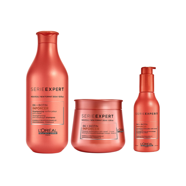 Inforcer Shampoo and Masque Duo + Free leave in