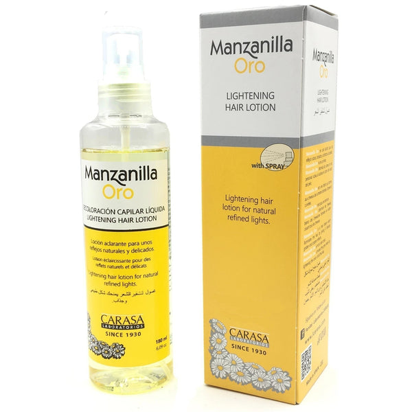 Manzanilla Oro Lightening Hair Lotion Spray 180ml
