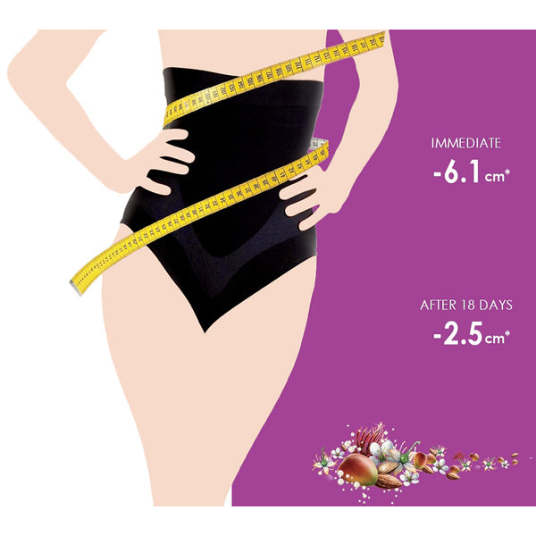 Corrective Slimming Belt Panties Black