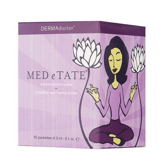 Med E Tate Antiperspirant Wipes 30 Sachets-DERMAdoctor-UAE-BEAUTY ON WHEELS