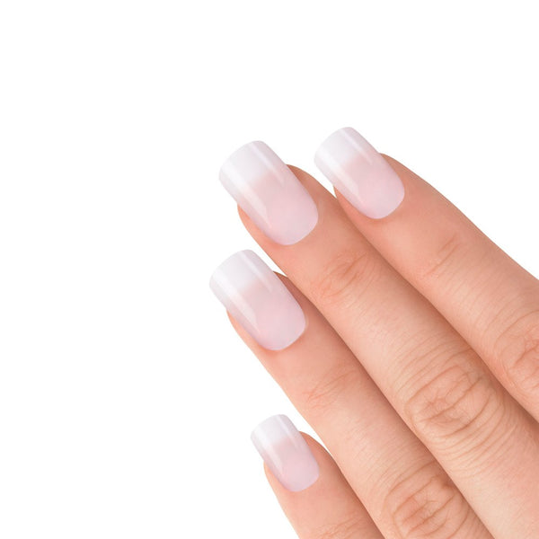 NATURAL FRENCH MANICURE PINK NAILS 103 (MEDIUM)