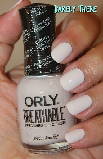 Breathable Barely There Nail Polish 18ml