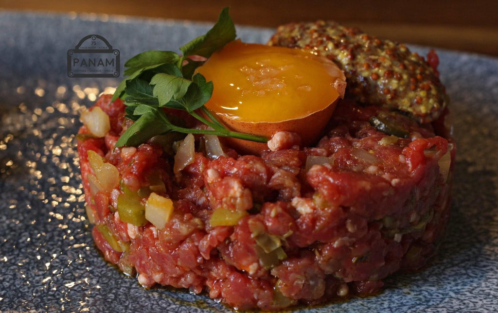 Steak tartare estilo bistro de paris