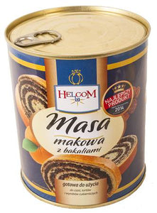 Graines de pavot et fruits secs /  Маковая начинка 850g