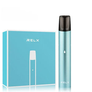 Relx Starter Kit - Turquoise Blue | Relx NZ | Vapepenzone
