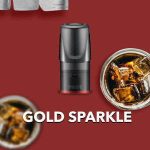 Relx Pods - Gold Sparkle | Relx NZ | Vapepenzone