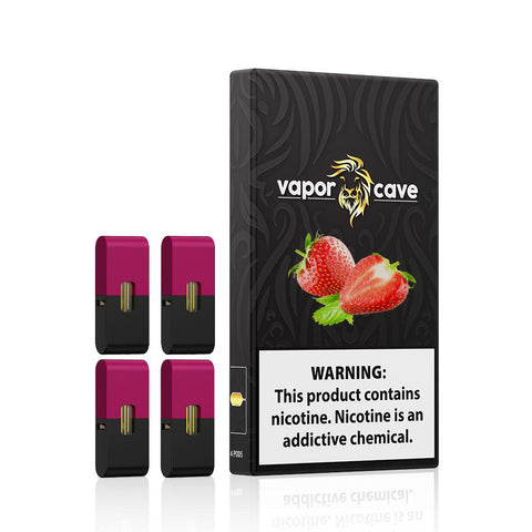 Image of Compatible Pod for Juul - Silky Strawberry | Juul NZ | Vapepenzone