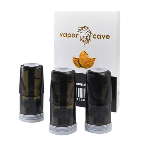 Image of Compatible Pods For Relx - Tobacco | Relx NZ | Vapepenzone
