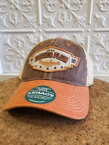 JP Brown Trucker Hat w/ Stars