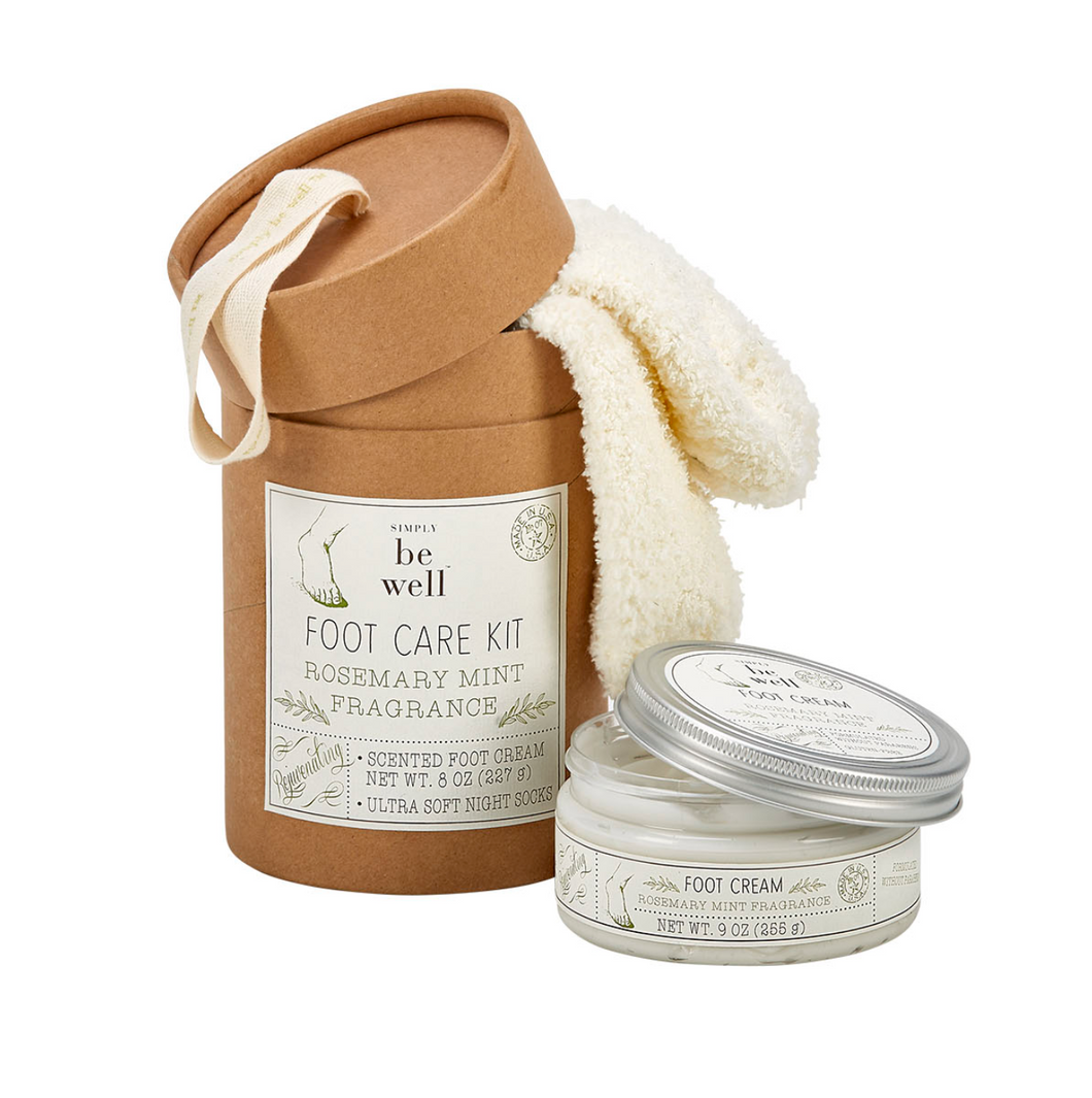 Rosemary Mint Foot Care Kit