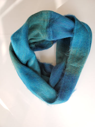 Infinity Scarf Double Weave Carribean