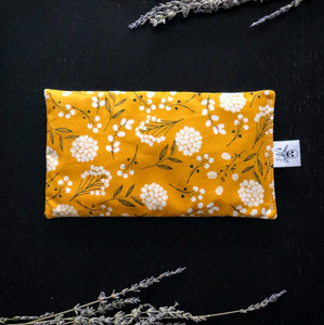 Mustard Floral Lavender Hot/Cold Pack