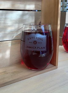 Entering JP Stemless Wine 21OZ Glass