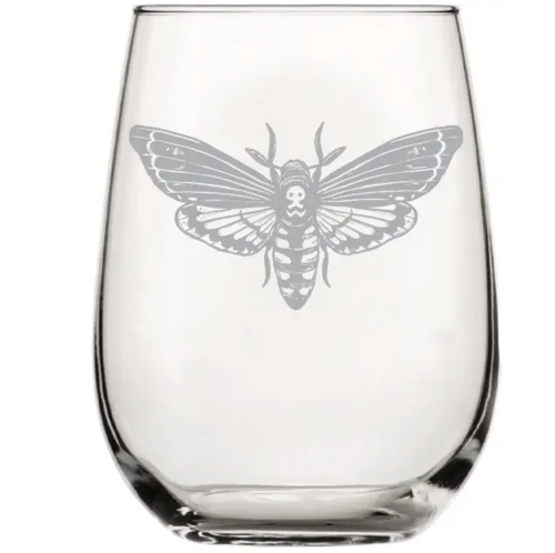 Moth Wine Glass