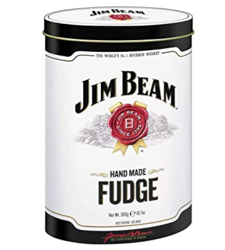 Jim Beam Bourbon Fudge Tin