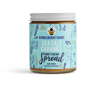 Sea Salt Caramel Honey Cream Spread