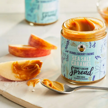 Load image into Gallery viewer, Sea Salt Caramel Honey Cream Spread