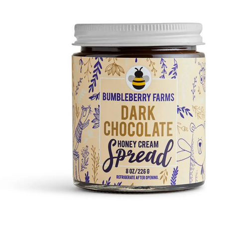 Dark Chocolate Honey Cream Spread