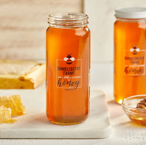 Raw & Gently Filtered Clover Honey 11 Oz