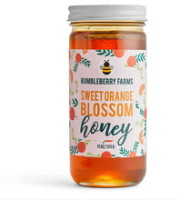 Load image into Gallery viewer, Sweet Orange Blossom Honey 11OZ