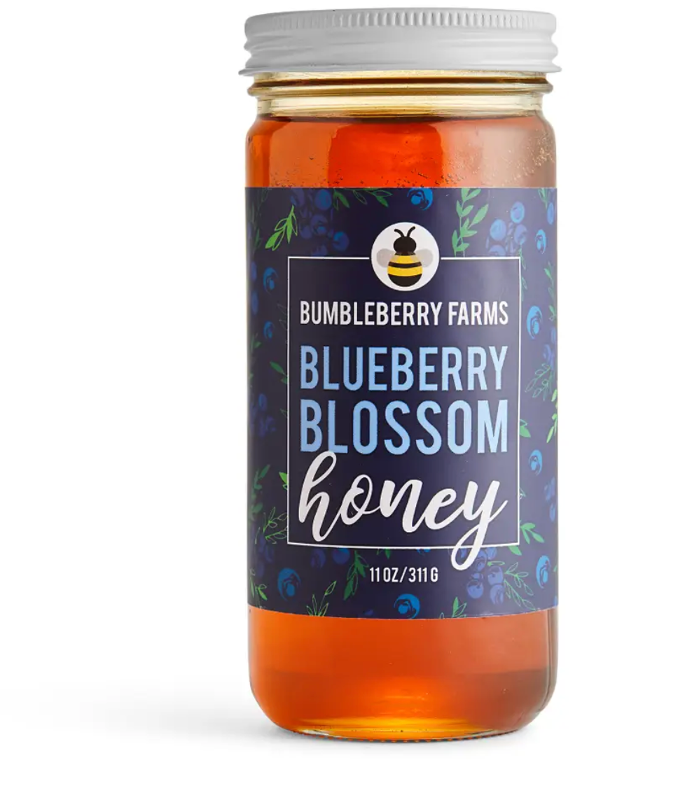 Blueberry Blossom Honey 11 Oz