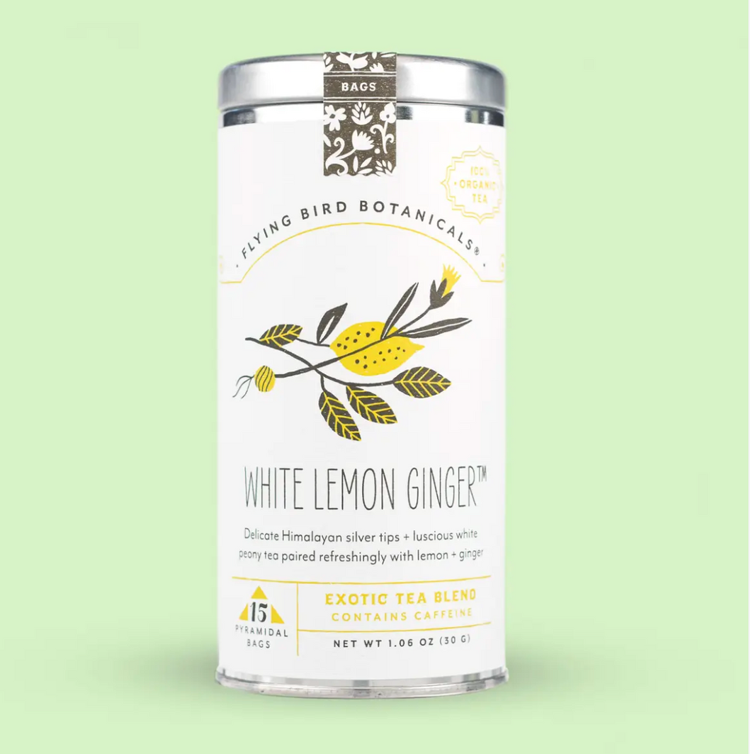 White Lemon Ginger