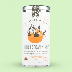 Lavender Orange Grey Tea Bags